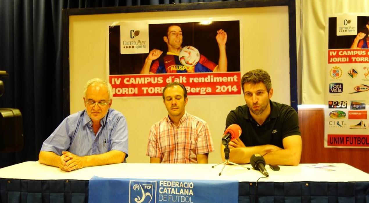 Berga aplegarà una quarantena d'infants i joves al Campus d'Alt Rendiment Jordi Torras, de futbol i futbol sala