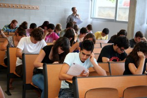 127 estudiants dels instituts del Berguedà s'examinen de la selectivitat