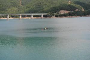 Obren una zona d'entrenament en aigües obertes a l'Embassament de la Baells
