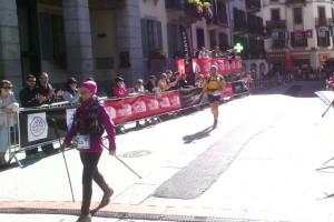 Anna i Pau Ventura finalitzen la TDS de l'Ultra Trail del Mont Blanc