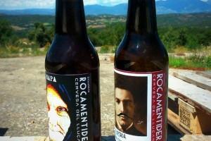 L'empresa Rocamentidera presenta dues cerveses fetes a la comarca