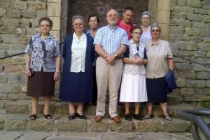 Borredà diu adéu a les Germanes Dominiques