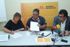ERC i Impuls signen un acord comarcal per presentar-se junts a les eleccions municipals