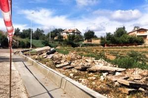 Gironella construeix una vorera per connectar la Font dels Tòrracs amb Cal Bassacs