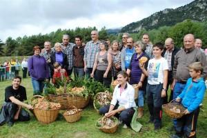 La renovada Berga Bolet es tanca amb èxit, i el Concurs de Boletaires premia una cistella de 50 quilos de rovellons