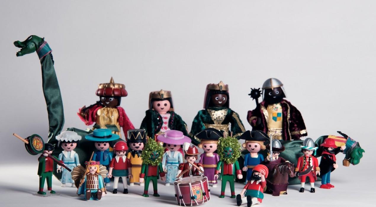 2.500 clicks de Playmobil donen vida a la Patum de Berga