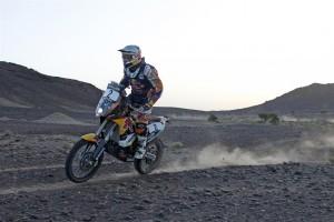 Coma es manté segon a la classificació general del Ral·li del Marroc