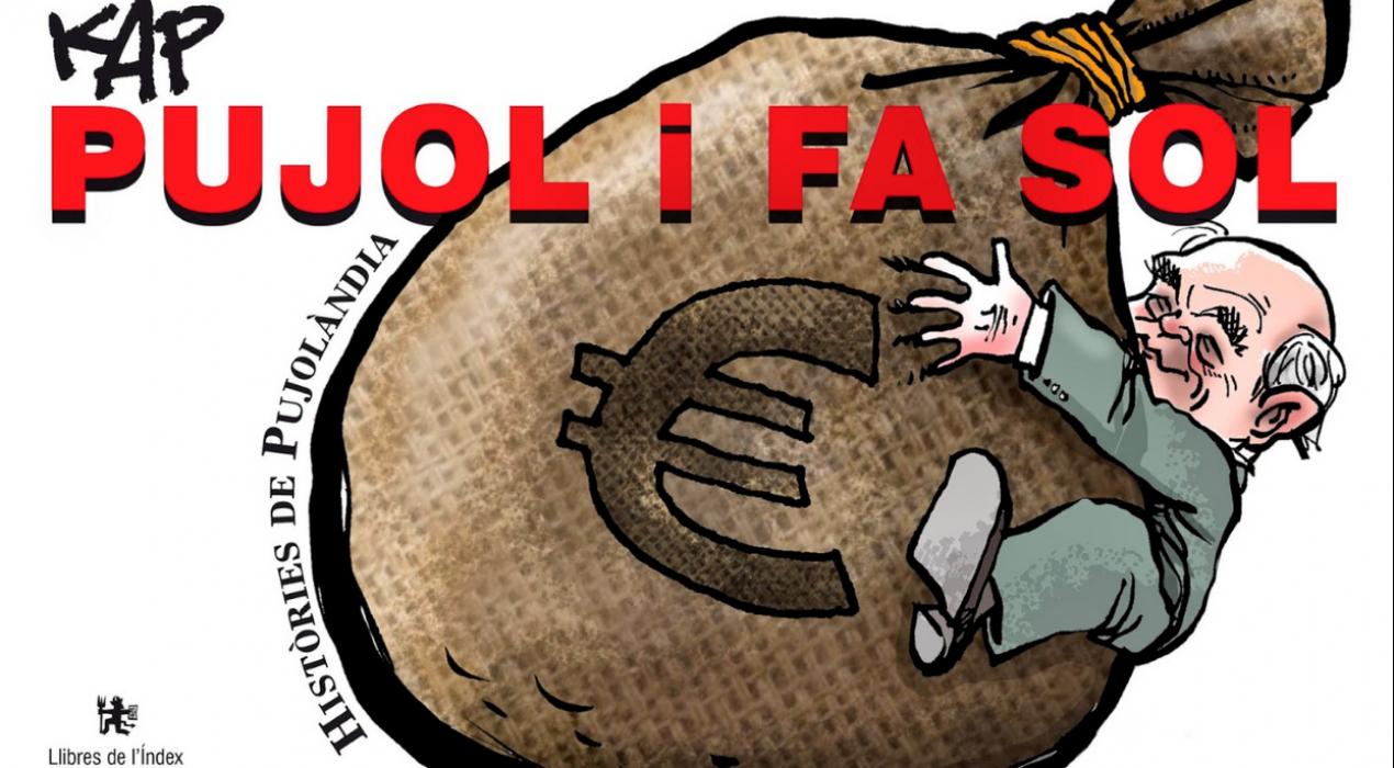 El ninotaire berguedà KAP publica un recull de 150 acudits sobre Jordi Pujol