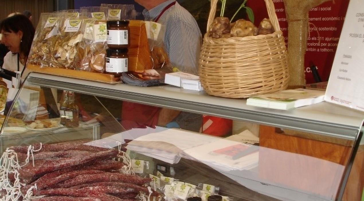 Empreses alimentàries del Berguedà participen a la fira Mercat de Mercats i al Fòrum Gastronòmic, a Barcelona