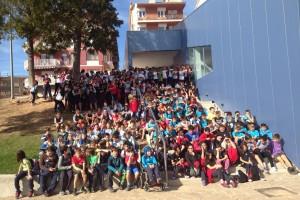 Més de mig miler d'alumnes de 5è i 6è de primària del Berguedà participen a la trobada multiesport