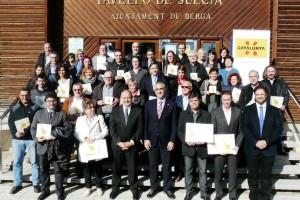 Berga rep el segell de Destinació de Turisme Familiar