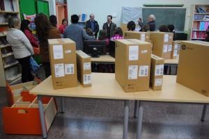 L'escola Sant Salvador de Cercs estrena material i mobiliari