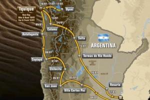 Els organitzadors del Dakar presenten un recorregut més dur, començarà i acabarà a Buenos Aires