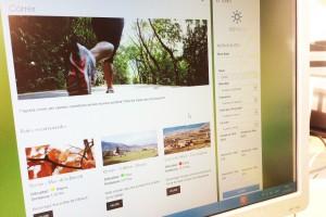 Berga crea una pàgina web i una app per promoure el turisme actiu i l'activitat física
