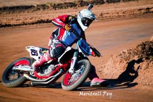 El pilot de Gironella Franc Serra participarà al Superprestigio Dirt Track