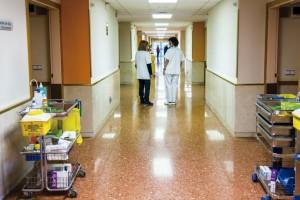 L'hospital de Berga ingressa més pacients que la mitjana catalana