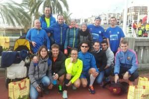 Bon paper dels atletes del JAB a la Sant Silvestre del Masnou