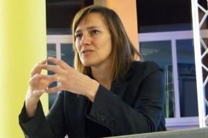 La berguedana Marie Kapretz parla del procés sobiranista català a Essen, Alemanya