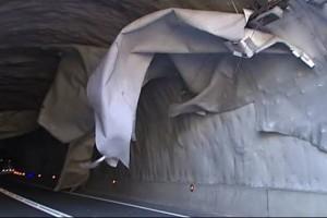Reoberta la C-16 a Berga després de reparar els danys al túnel causats pel vent