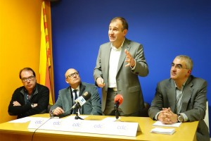 Antoni Biarnés és el candidat oficial de CiU a l'alcaldia de Berga després de ser ratificat pels militants de CDC
