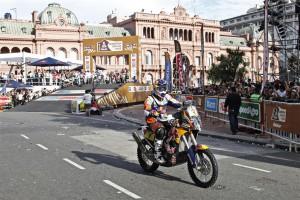 Marc Coma comença el Dakar 2015 amb una tercera posició d'etapa