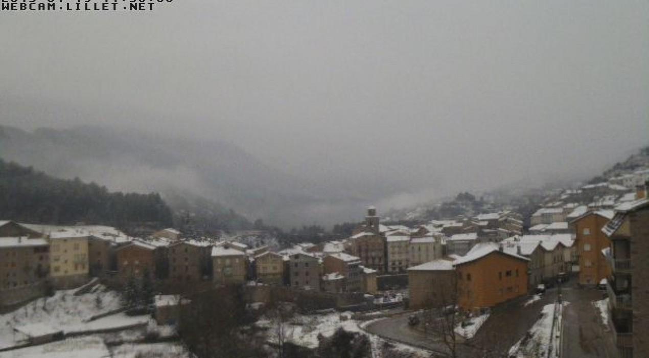 La neu obliga suspendre algunes línies de transport escolar a l'alt Berguedà