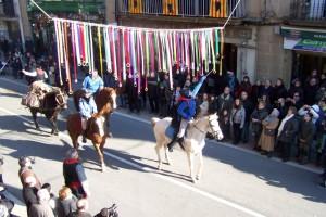 Una quarantena de carruatges i més de cinquanta cavalls desfilaran a La Corrida de Puig-reig