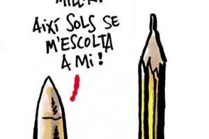 KAP se solidaritza amb 'Charlie Hebdo'