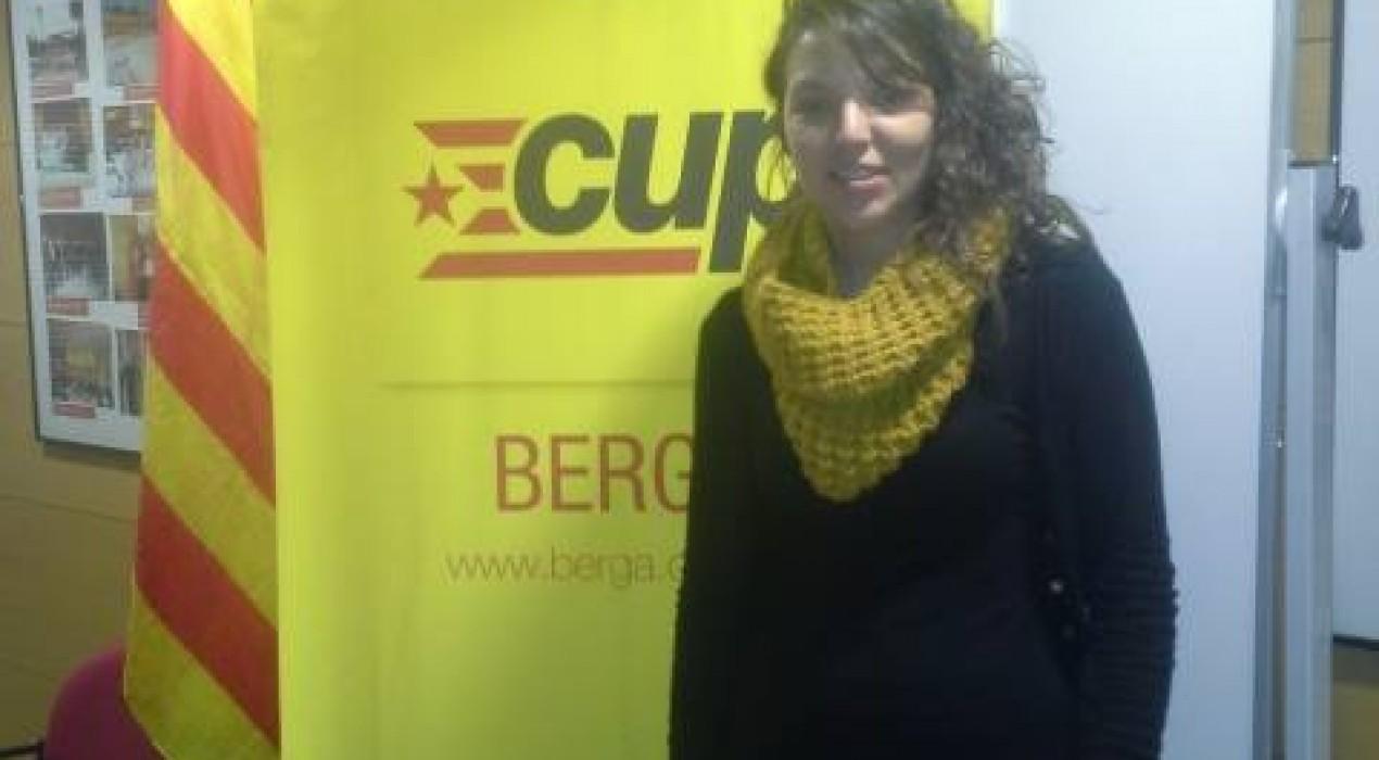 Montse Venturós és l'alcaldable de la CUP per Berga, que ha donat a conèixer tota la llista