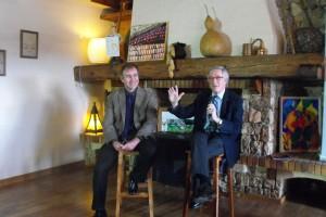 Trias convida Berga a participar en la candidatura dels Jocs d'Hivern en un acte de suport a Biarnés