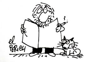 El dibuixant berguedà KAP homenatja la figura de Jaume Perich en un nou llibre