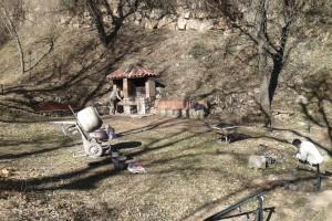 L'Ajuntament de Berga inicia els treballs de millora del paratge de Font Caldes