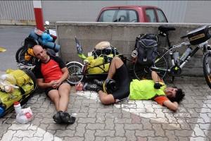 Dos berguedans viatgen 14.200 quilòmetres en bicicleta i transsiberià