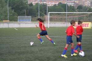 Berga acull del 5 a l'11 de juliol la segona edició del Campus FCB destinat a nens i nenes de 6 a 14 anys