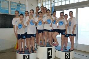 El Tossalet CN Berga ha estat primer en figures de nivell 1 en la Lliga Catalana d'Interclubs de natació sincronitzada