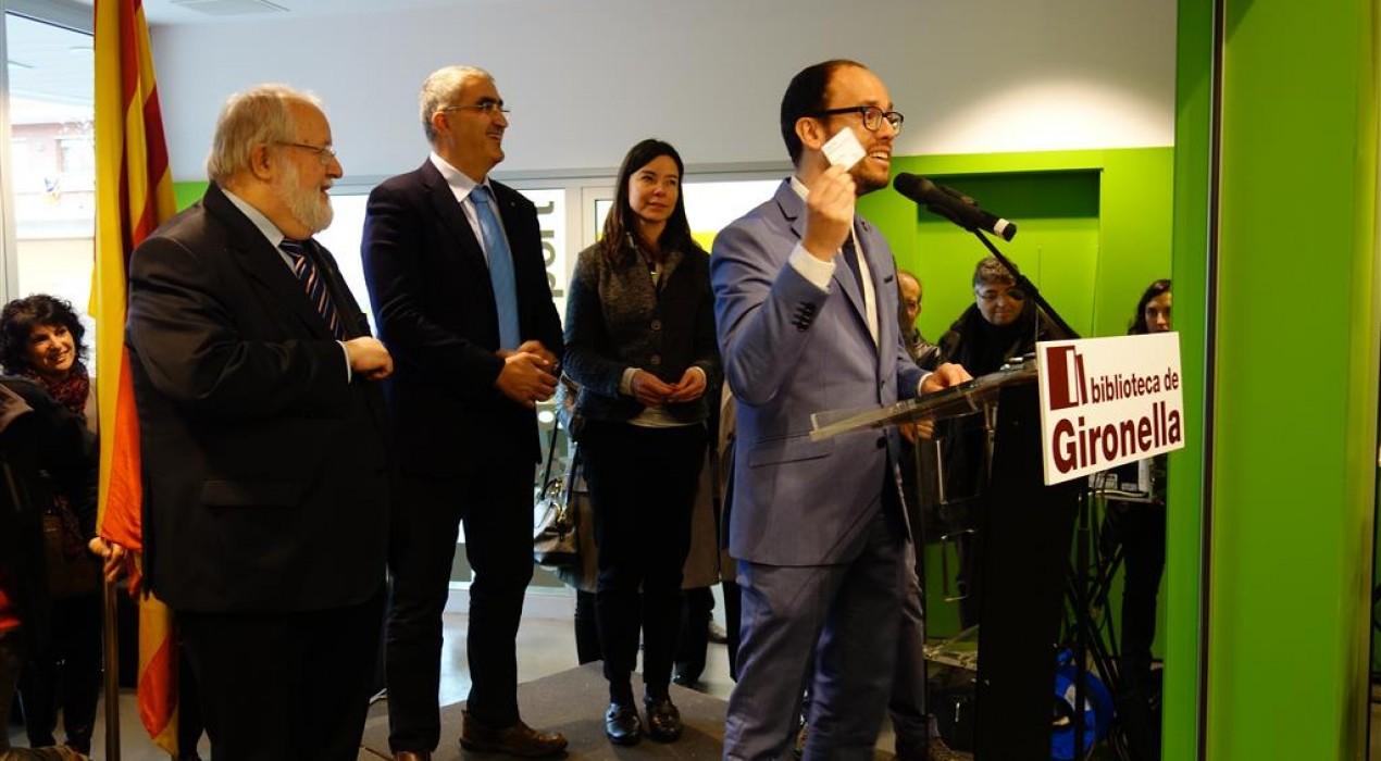 Gironella completa el mapa bibliotecari al Berguedà