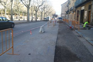 Alteracions del trànsit, el dilluns i dimarts 9 i 10 de març, a Berga per les obres al Vall