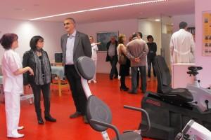 L'hospital de Berga multiplica per 6 l'espai del servei de rehabilitació amb l'obertura de la tercera planta del nou edifici