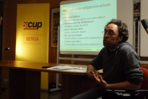 La CUP proposarà al seu programa la remunicipalització del servei d'aigües a la ciutat de Berga