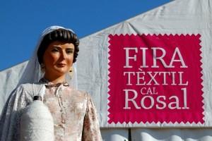 La Fira Tèxtil de Cal Rosal arriba enguany a la seva sisena edició amb tallers, activitats i moda