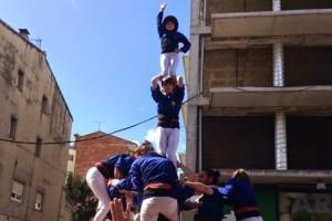 Els Castellers de Berga fan un bon inici de temporada a Gironella