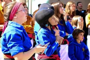 Més de 700 infants participen al concurs de dibuix dels Castellers de Berga