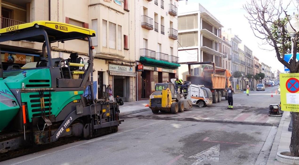 Gironella destina prop de 54.000 euros a asfaltar i fer treballs de manteniment als seus carrers