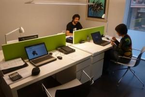 """Els professionals del coworking privat de Berga demanen """"més suport"""" de l'administració pública"""