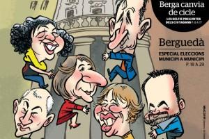 La revista AquíBerguedà treu el número de maig destacant el canvi de cicle que suposa a Berga el 24M