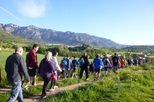La 27a edició de la caminada popular d'Avià s'enfila cap a Capolat