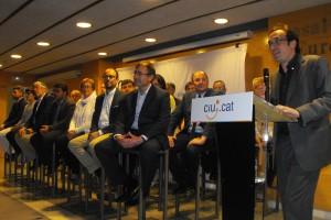 """CiU exhibeix múscul comarcal a Berga com a força """"amarada de Catalunya"""" i Rull hi diu que les llistes fantasma són """"un frau"""""""