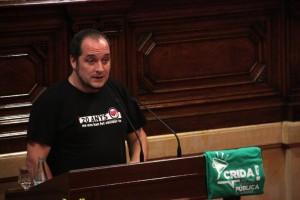 El diputat David Fernàndez (CUP) serà a Berga en la Trobada de Casals i Ateneus dels Països Catalans que s'hi fa dissabte 11 d'abril