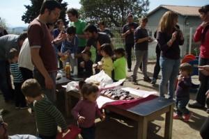 L'escola bressol Flor de Neu engega un projecte per crear i diversificar els espais del seu pati