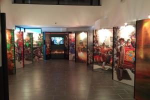 L'exposició itinerant de la Patum fa parada a Maçanet de la Selva